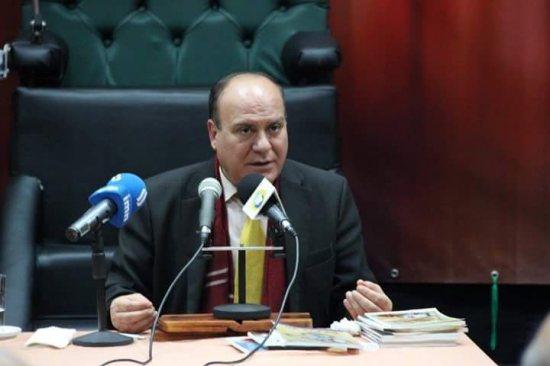 e88b684d4 الاستاذ الدكتور علي النشمي التدريسي في قسم التاريخ يمثل العراق في لاهاي  بهولندا
